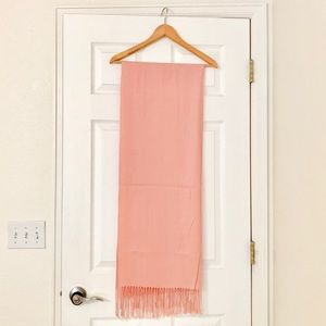 Accessories - Handmade Pashmina Scarf in Pink